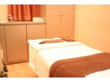 カミオシオン(KAMIO CION)/気持ちいい個室のベッド。