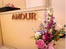ビューティサロン アムール(BEAUTY SALON Amour)の雰囲気(アロマの香りとヒーリングミュージックに包まれる癒し空間♪)