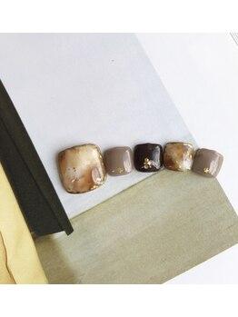 ネイルアトリエ ボン(nail atelier bon)/フットジェルネイル