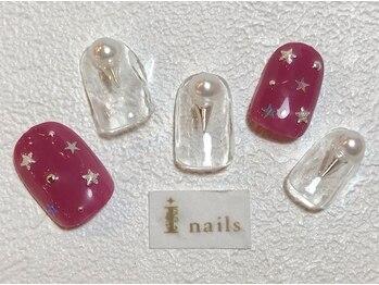 アイネイルズ 梅田店(I nails)/スター×パール