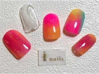 アイネイルズ 梅田店(I nails)/ピンクニュアンス