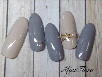 ミハフルーラ 与野(Home Nail Salon Mija Flura)/シンプル 5980円