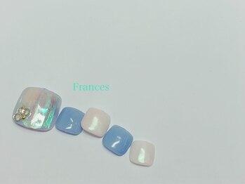 フランセス(Frances)/フット 氷ネイル