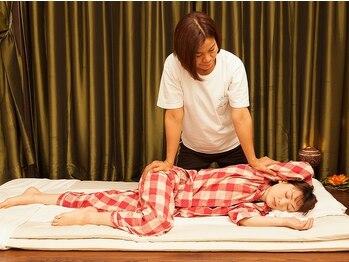 バンリー柏店の写真/【タイ式+首オイル+フットケア(175分)¥11500】熟練のスタッフが癒しながら丁寧に疲れを取り除きます♪