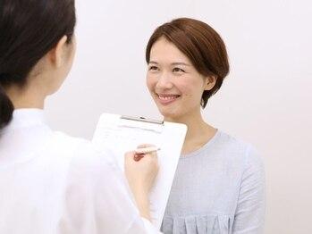 カマタ メイクアップサロン 大阪店/3:今のお顔を診断 顔分析