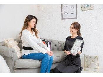 ビューティーサロン ココ 各務原店(COCO)/丁寧にカウンセリング
