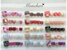 ネイルサロン モンシェリ(nail salon Mon cheri)の雰囲気(フットの定額コースが大人気♪これだけアートしても8000円♪)