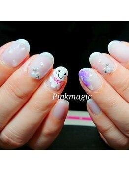 ピンクマジック(PINKMAGIC)/梅雨ネイル