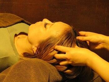プリマージュ 札幌(Primage)の写真/《駐車場有》眼精疲労・頭皮のコリ・ストレス改善!【ドライヘッドスパ50分¥4500】極上のリラックスtimeを♪