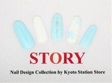 プライベートネイルサロンストーリー 京都駅前店(STORY)/お花チェック