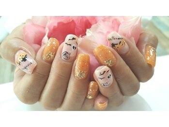 ネイルサロンカリプソ(Nail Salon Calypso 2)/ハロウィンネイル☆
