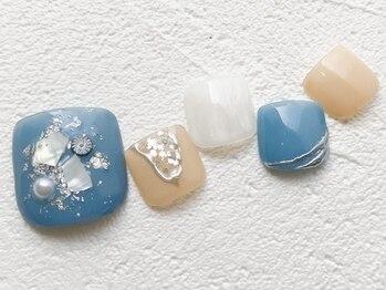 リーチェ ビューティアンドネイルサロン 大名店(Beauty&Nail Salon)/foot☆4月campaign