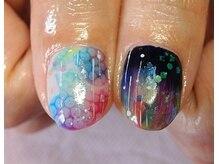 ビューティーサロン ルームフォーユー(Room 4U)/雨上がりの紫陽花と虹