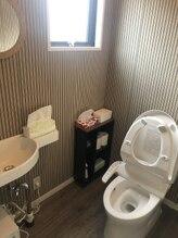 キングスサロン 熊本大学前店/トイレ