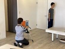 ストレッチアンドボディケア ムーヴ 上板橋店(m.o.v.e)/〈流れ〉2.姿勢写真&検査