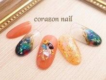 コラソンネイル(corazon nail)/選べるデザインコース★¥6600