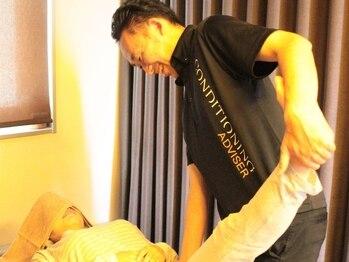リーフの写真/整体ボディケアのほぐしとストレッチをセットにすることにより筋肉の弾力性と伸縮性を取り戻す!極軽体験♪