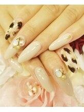 トリーシア(Nail & Beauty Salon Tri-xia)/ひょう柄ネイル