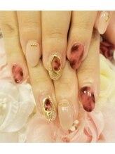 トリーシア(Nail & Beauty Salon Tri-xia)/タイダイネイル