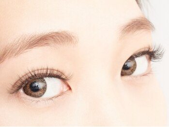 アイラッシュサロンナイン 池袋店(Nine)の写真/自まつ毛をグッと上げ装着するから圧倒的な瞳力UP♪【初回★アップワードラッシュ×セーブル120本¥5980】