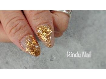 リンドゥネイル(Rindu Nail)/メタリックアート1
