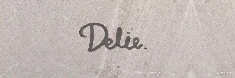 デリエ(Delie)のサロンヘッダー