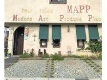 マップ(MAPP)の雰囲気(駐車場完備、空いているところに停めて下さい)