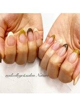 ネイルカレッジアンドサロン ナチュレ(nailcollege&salon NATURE)/フレンチネイル