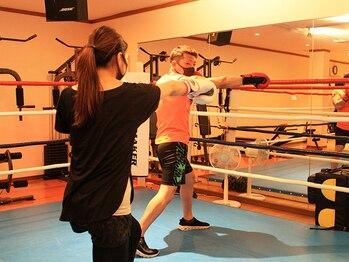 さくらボクシングジムの写真/【初心者・女性向け☆ボクシングジム】24時間ジムと違いアットホームな雰囲気で楽しく続けられる♪