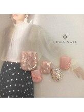 ルナ ネイル(LUNA NAIL)/【フット】ニュアンス*ピンク