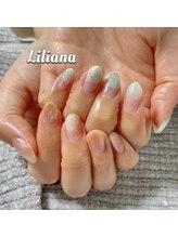 リリアーナ(Liliana)/塗りかけネイル