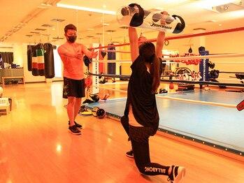 さくらボクシングジムの写真/【平日11時~15時はレディースタイム★】女性だけの時間で周りの目を気にせずトレーニング!美脚&美尻をGET♪