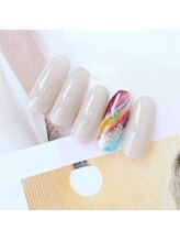 ネイルスペース ヴィタリテ(nail space Vitalite')/10月ハンドジェルA¥6060