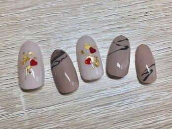 ネイルサロンアンドスクール ミュー(Nail Salon & school mieux)/チョコレートネイル