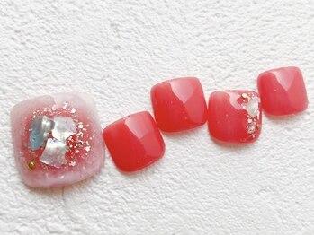 リーチェ ビューティアンドネイルサロン 大名店(Beauty&Nail Salon)/2021S/Sフットネイル