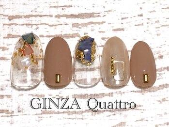 ギンザ クワトロ(GINZA Quattro)/定額/LuxuryC 8500円/ベージュ