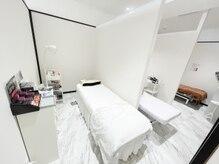 アイラッシュスペースは個室/半個室をご用意しております♪