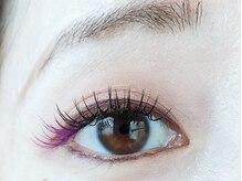 フィカス アイラッシュ(FICUS eyelash)の雰囲気(目尻にカラーでアクセントをプラス♪)