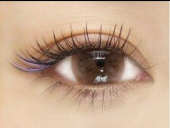 トリーシア(Nail & Beauty Salon Tri-xia)/カラーアイラッシュ(ブルー)