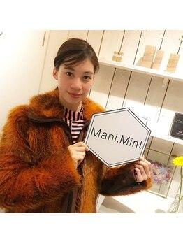 マニミント 表参道店(mani.mint)/宮本彩菜さんご来店★