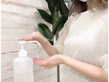 ドーリーラッシュ イオンモール熊本店/【手指消毒スプレーの設置】
