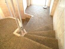 スピードネイル 宇都宮オリオン通り店(SPEED NAIL)の雰囲気(らせん階段になっていますので、お気をつけ下さい!)