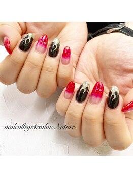 ネイルカレッジアンドサロン ナチュレ(nailcollege&salon NATURE)/定額スカルプ9500円