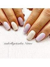 ネイルカレッジアンドサロン ナチュレ(nailcollege&salon NATURE)/カラフルネイル