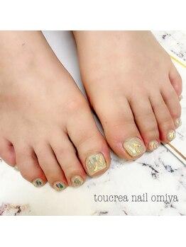 トゥクレアネイル 大宮店/持ち込み foot nail☆