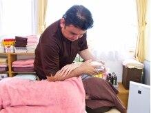 リラクゼーションコリトル(CoriToru)の雰囲気(男性セラピストによる、温かい大きな手の施術が喜ばれています◎)