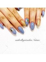 ネイルカレッジアンドサロン ナチュレ(nailcollege&salon NATURE)/定額ジェル4980円