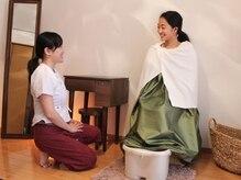 サンカラ(SANKARA)の雰囲気(京都産無農薬よもぎ&選べる16種類のハーブの良い香り♪)