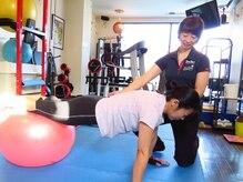 フィットネスアンドビューティーラボ アピフル(Fitness&Beauty labo APFL)の雰囲気(お客様の筋肉量、質、体の悩みに合わせてメニューを調整します!)