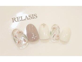 リラシス(RELASIS)/お花デザイン♪